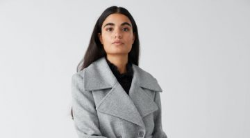 & Other Stories Double Breasted Belted Coat $219