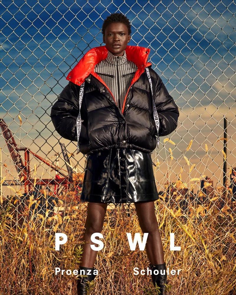 Awar Mou stars in PSWL Proenza Scouler spring 2019 campaign