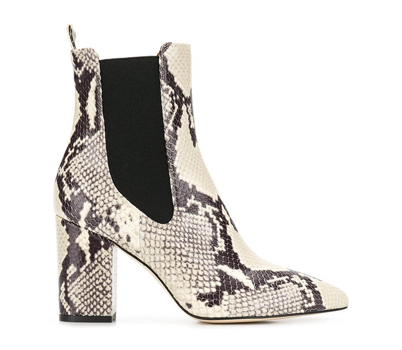 Paris Texas Snakeskin-Effect Boots $245 (previously $350)