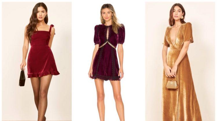 Best velvet party dresses