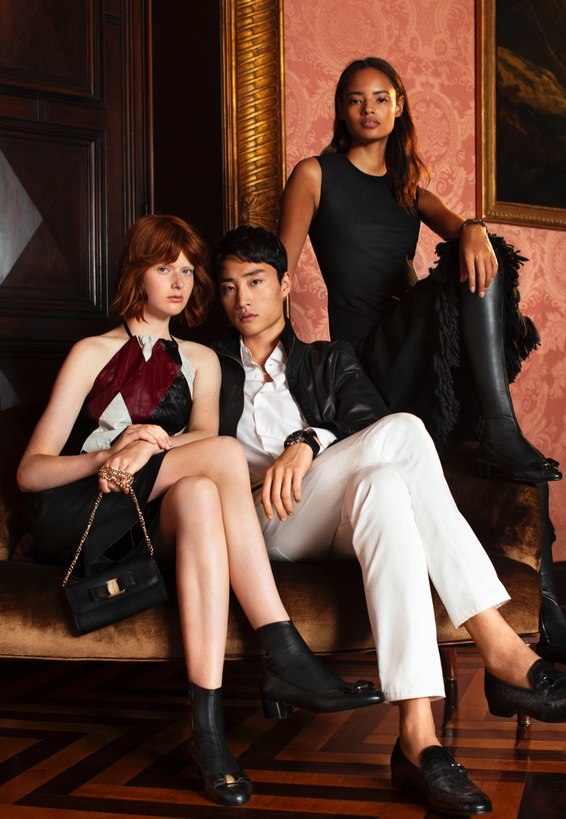 For 2018, Salvatore Ferragamo unveils its first Holiday advertisements