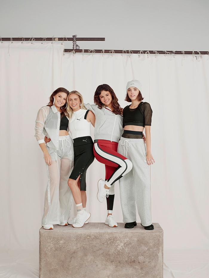 Athleisure takes the spotlight for SG x PUMA Strong Girl collection