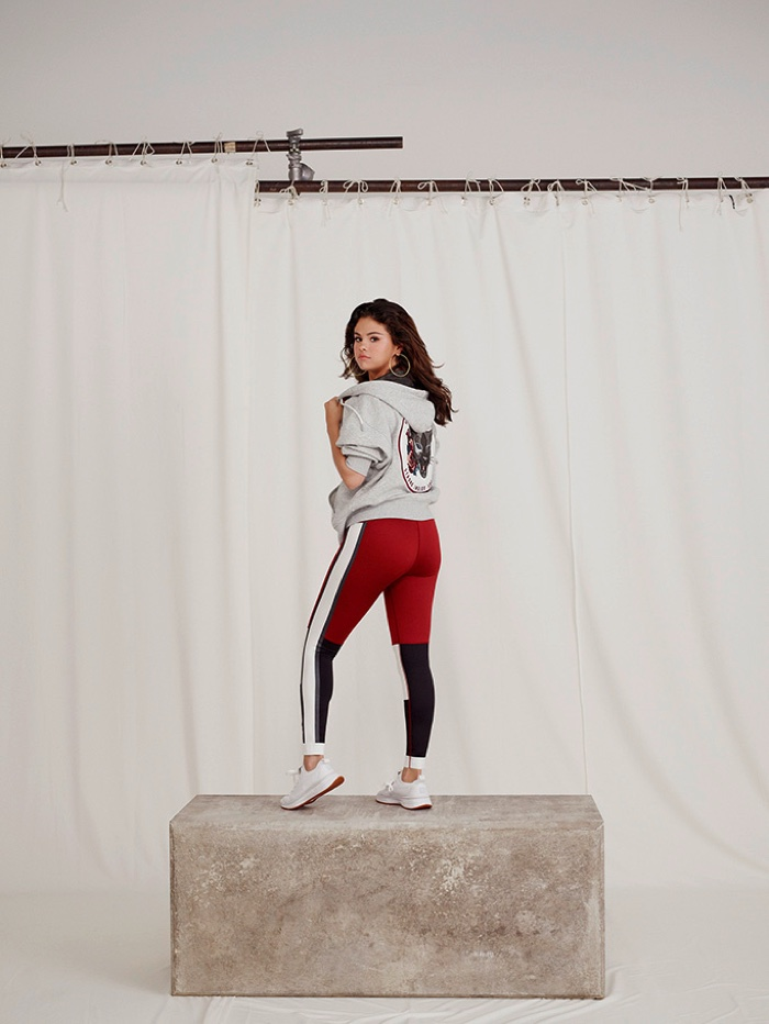 Singer Selena Gomez appears in SG x PUMA Strong Girl campaign