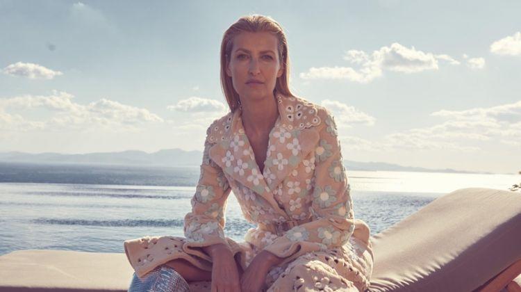 Tereza Maxova Wears Luxe Styles for Harper's Bazaar Czech