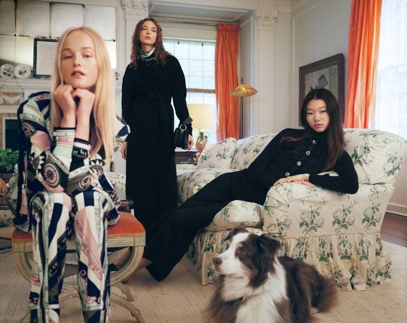 A photo from the Tory Burch holiday 2018 advertising campaign