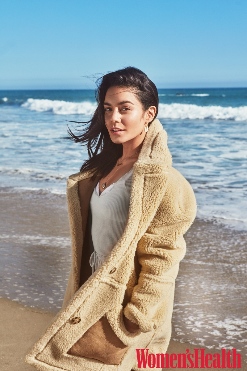 Vanessa Hudgens Wears Beach Style for Women's Health