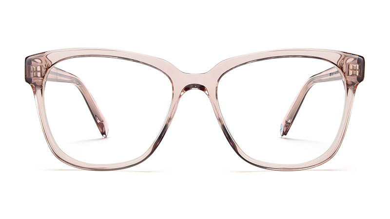 Warby Parker Francis Glasses in Rose Water $95