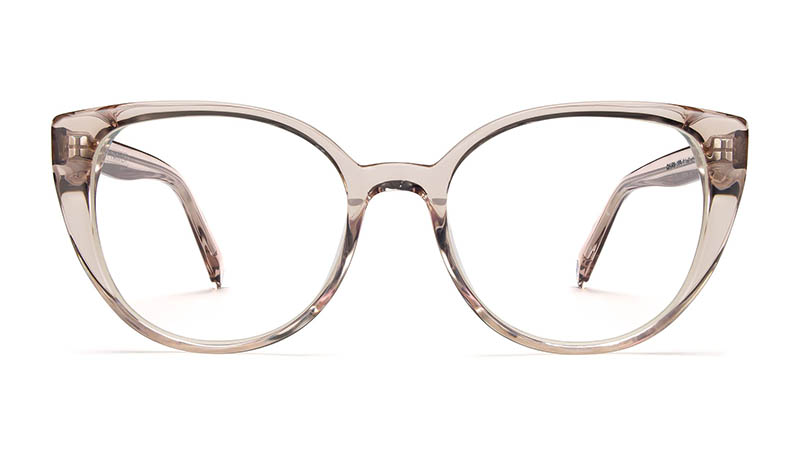 Warby Parker Hazel Glasses in Pewter $95