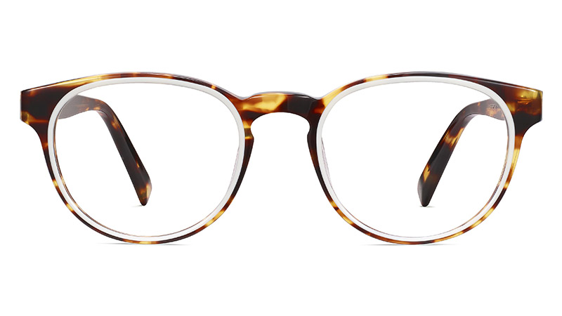 Warby Parker Percey Glasses in Root Beer with Ecru $145