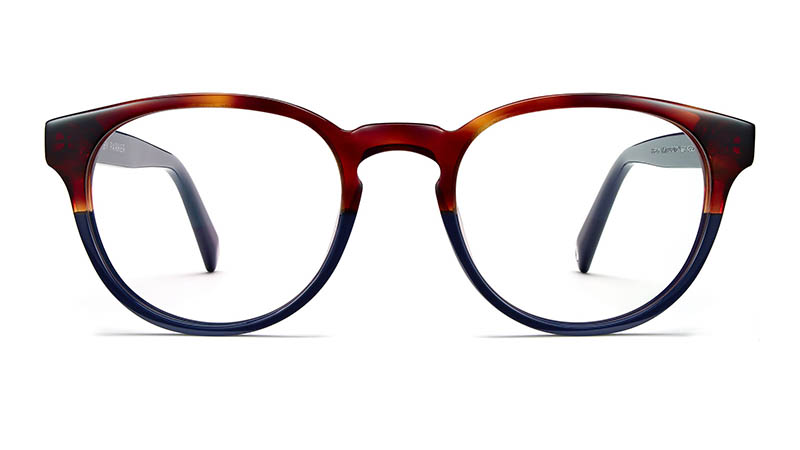 Warby Parker Percey Holiday Glasses in Midnight Tortoise Fade $95