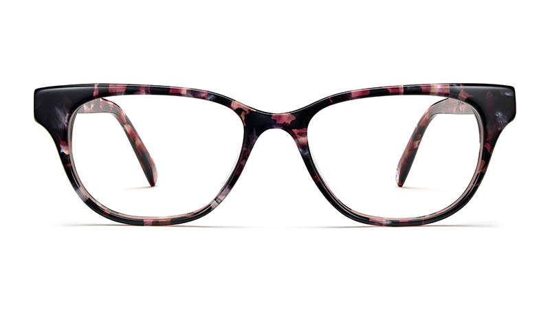 Warby Parker Rosemary Glasses in Violet Quartz Tortoise $95