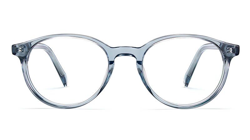 Warby Parker Watts Glasses in Pacific Crystal $95