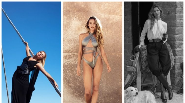 Week in Review | Gisele Bundchen's New Cover, Candice Swanepoel Swim, Margot Robbie for Bazaar + More