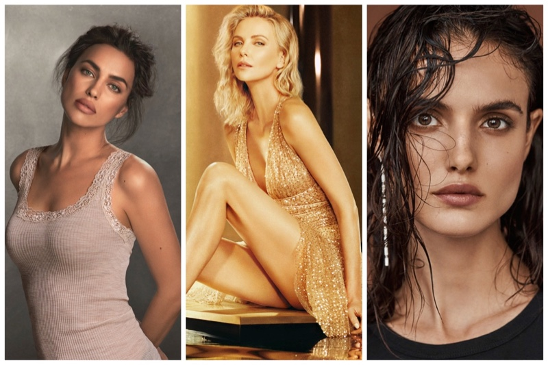 Week in Review |  Irina Shayk for Intimissimi, Charlize Theron's Dior Ad, Blanca Padilla's New Cover + More