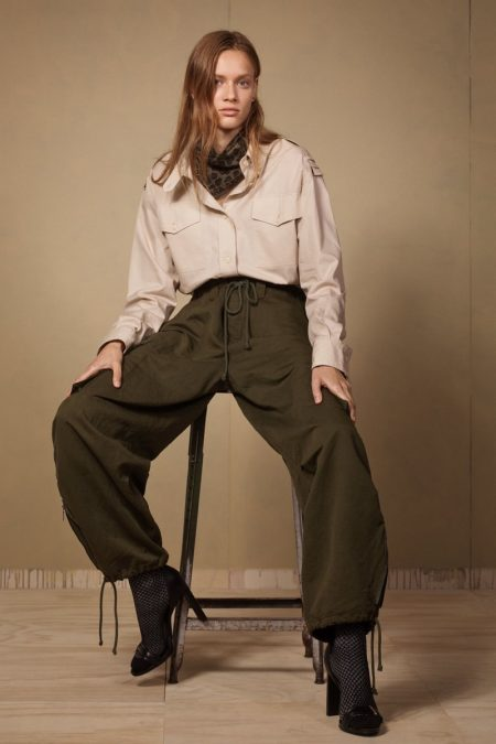 Zara Takes On the Military Trend With SRPLS Collection