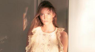 Rebecca Leigh Longendyke stars in Alberta Ferretti spring-summer 2019 campaign