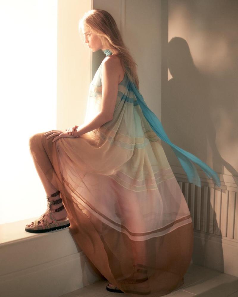 Italian fashion brand Alberta Ferretti launches its spring 2019 campaign