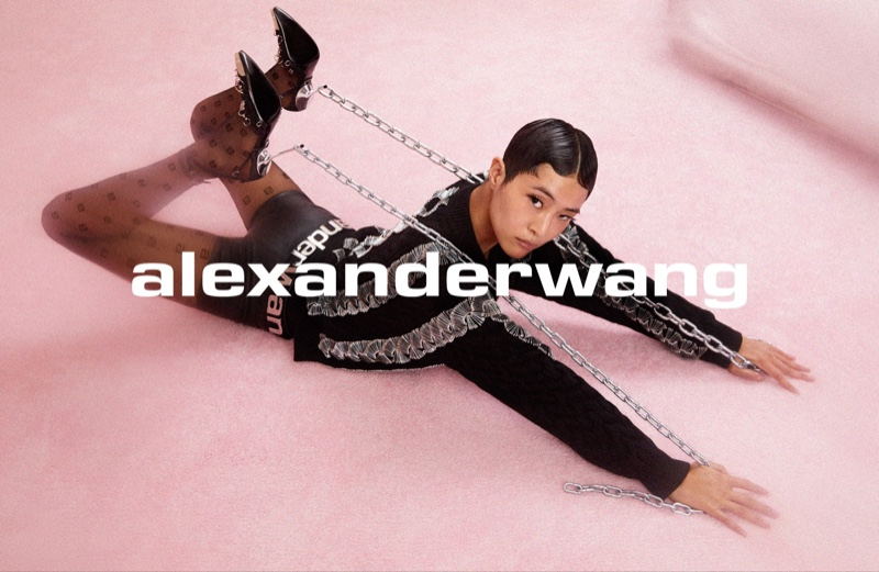Sohyun Jung stars in Alexander Wang Collection 1 Drop 2 campaign