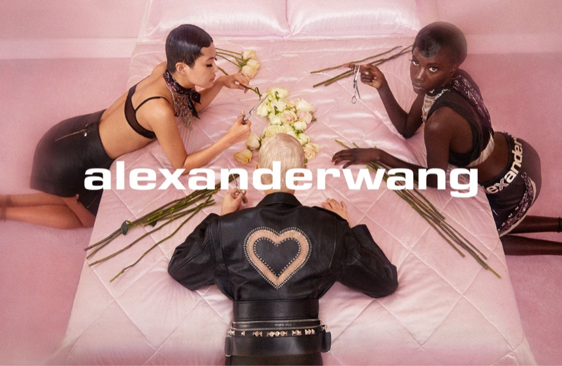 Alexander Wang Thinks Pink for Collection 1 Drop 2 Campaign