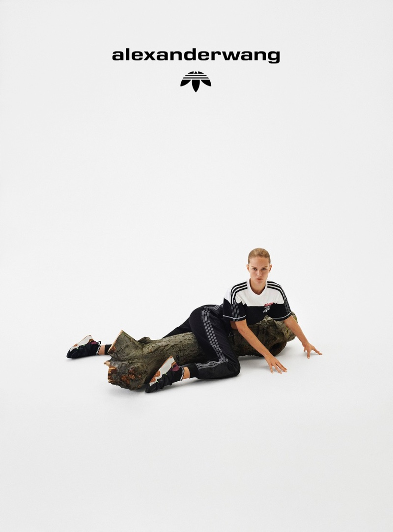 An image from the adidas Originals by Alexander Wang Collection 4 campaign