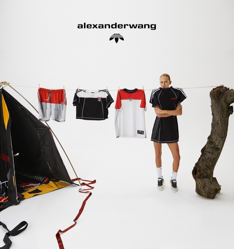 Looks from adidas Originals by Alexander Wang Collection 4