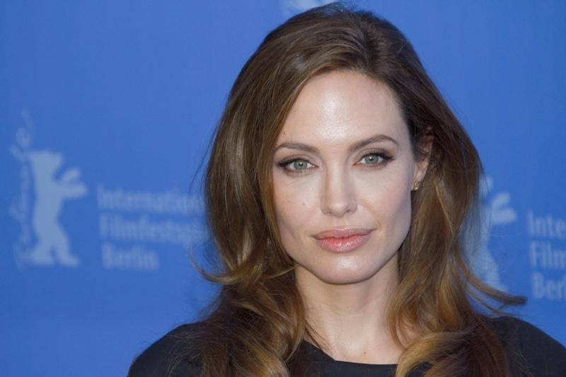 Angelina Jolie Blue Eyes