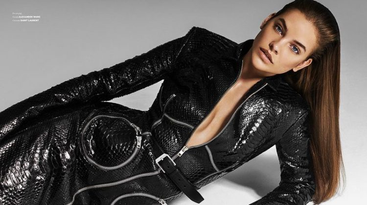 Barbara Palvin Models Sleek Styles for Issue Magazine