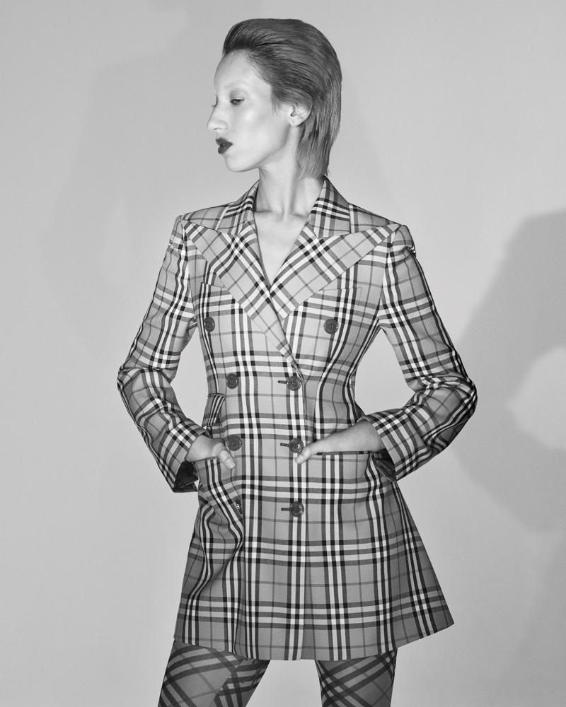 Dolores De La Rosa stars in Vivienne Westwood x Burberry campaign
