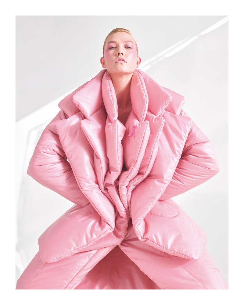 Karlie Kloss poses for CR Women 2019 Calendar. Photo: Mario Sorrenti