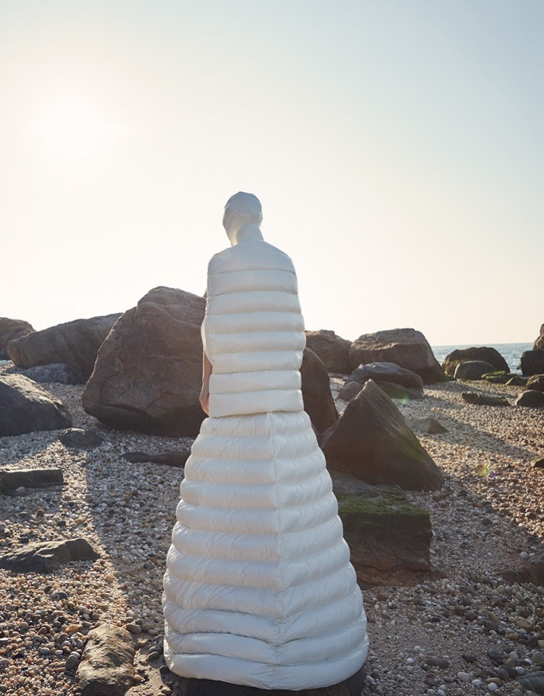 Carolina Burgin Transforms in Dreamy Dresses for Vogue China