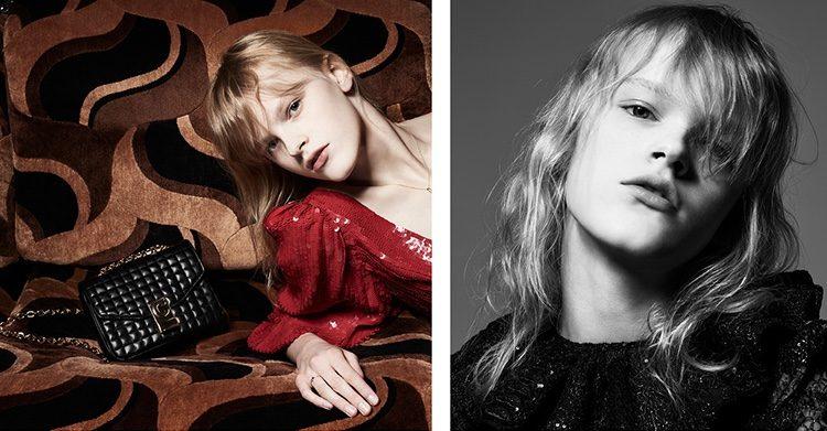 Model Hannah Motler fronts Celine spring-summer 2019 campaign