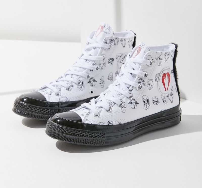 Converse x Shrimps Chuck 70 High Top Sneaker $110