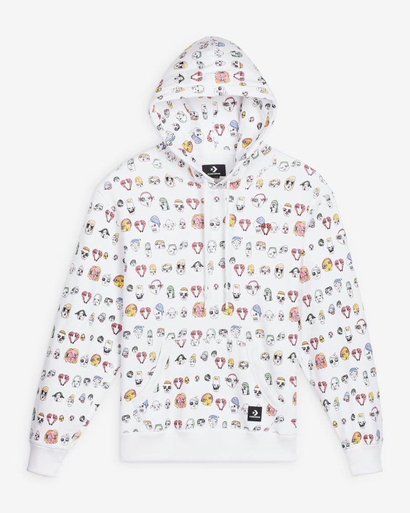 Converse x Shrimps Faces Pullover Hoodie $100