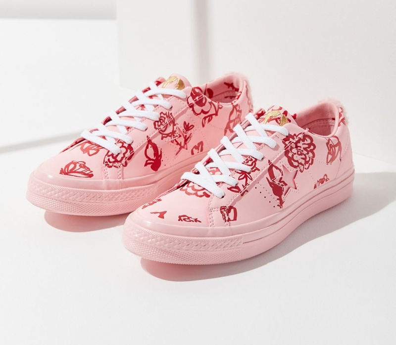 Converse x Shrimps One Star Low Top Sneaker $120