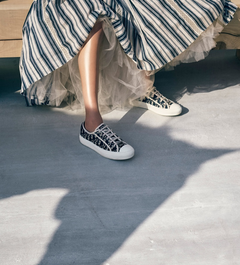 Walk'n'Dior sneakers from cruise 2019 collection