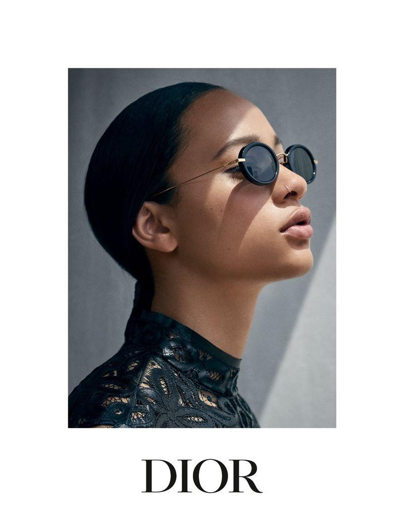 Viviane Sassen photographs Dior Eyewear cruise 2019 campaign