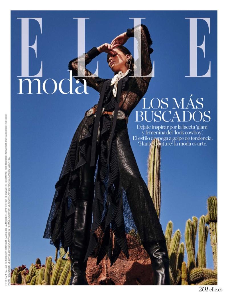 Elena Melnik Takes On the Western Trend for ELLE  [...]</div>     <div class=