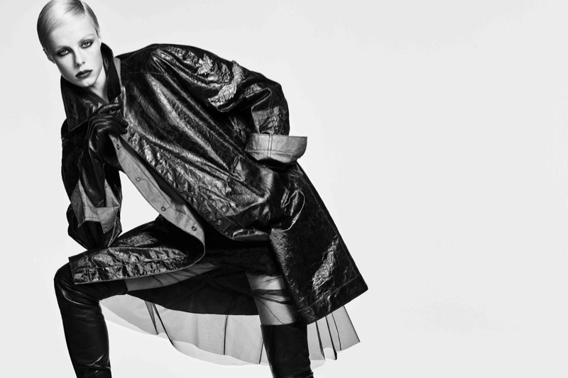 An image from the Ermanno Scervino spring 2019 advertising campaign