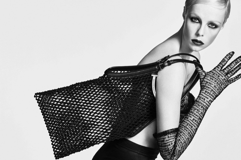 Edie Campbell fronts Ermanno Scervino spring-summer 2019 campaign