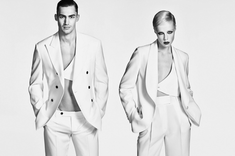 Ermanno Scervino focuses on suiting for its spring-summer 2019 campaign