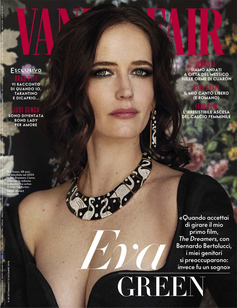 Eva Green on Vanity Fair Italy December 12th, 2018 Cover