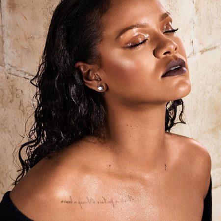 Rihanna Stuns in Fenty Beauty's New Mattemoiselle Shades