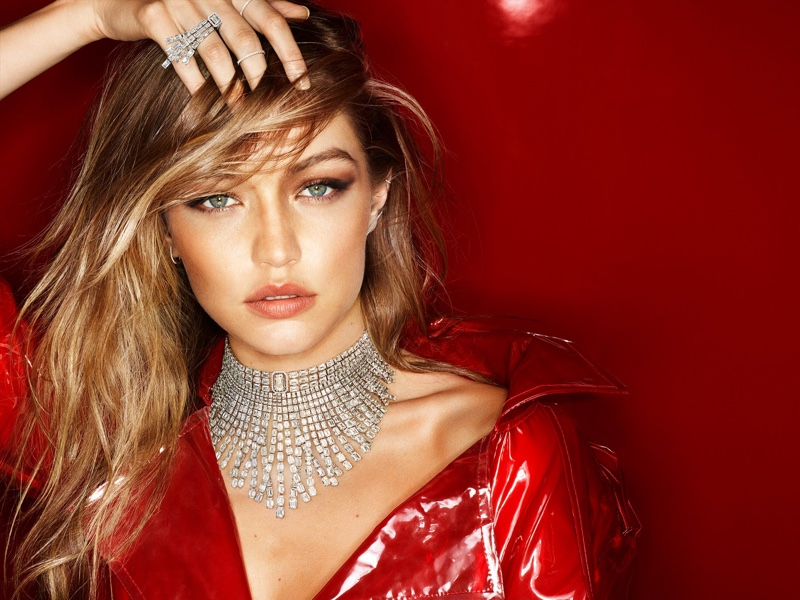 Gigi Hadid stars in Messika Holiday jewelry campaign