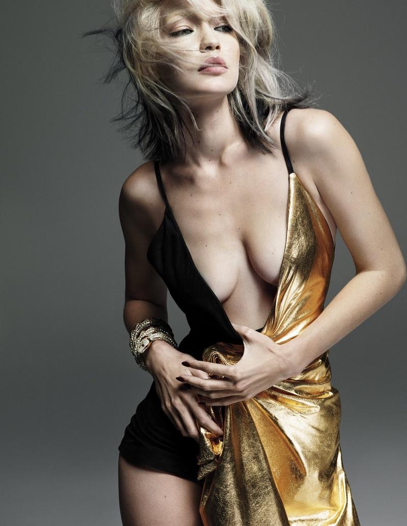 Gigi Hadid Channels Blondie's Debbie Harry for W Magazine