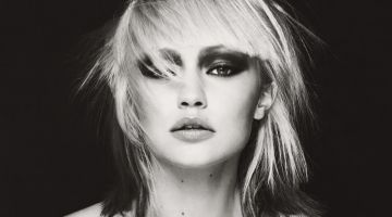 Gigi Hadid Channels Blondie's Debbie Harry for W Magazine