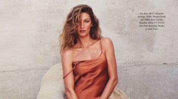 Gisele Bundchen Poses in Relaxed Styles for Harper's Bazaar Australia