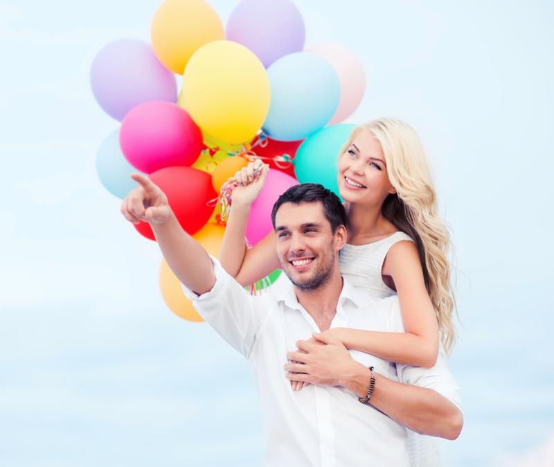 Good Looking Couple Balloons