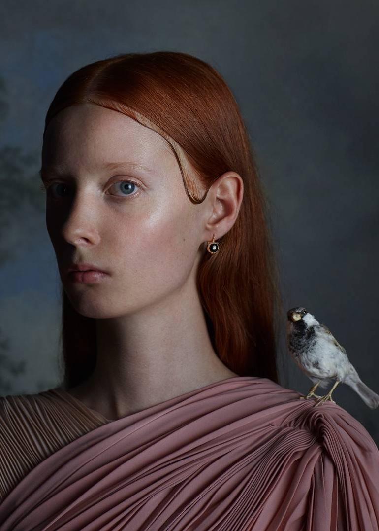 Gucci channels flemish paintings for Le Marché des Merveilles fine jewelry campaign