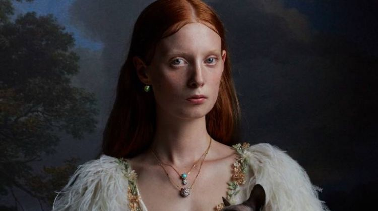 Gucci latest fine jewelry collection features glittering gems