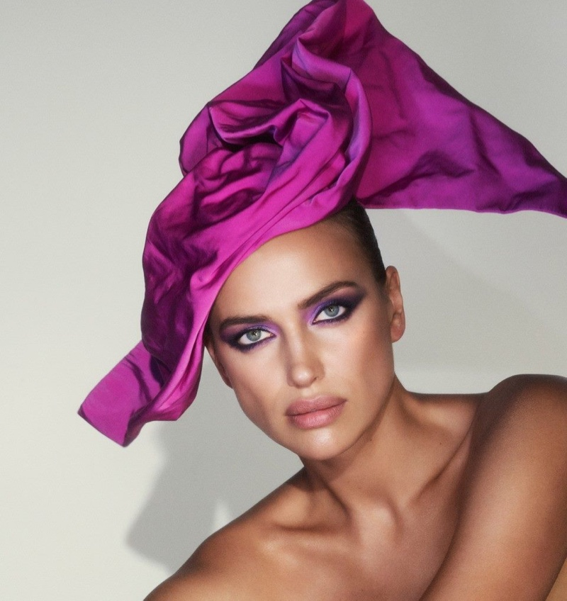 Irina Shayk stars in Marc Jacobs Beauty campaign for Sephora Russia